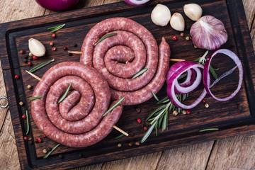 raw pork sausage