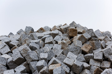 Construction Material: Paving Stone Stack