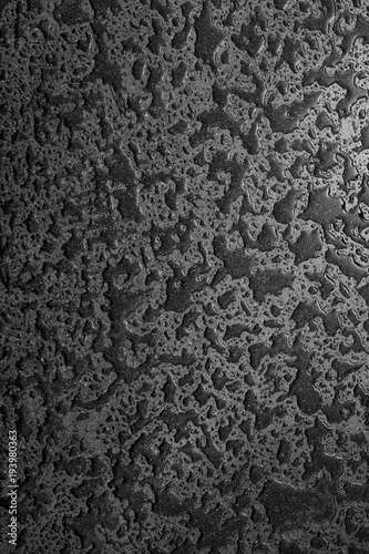 Texture Abstract Pattern Black Stone Textured Gray Wall