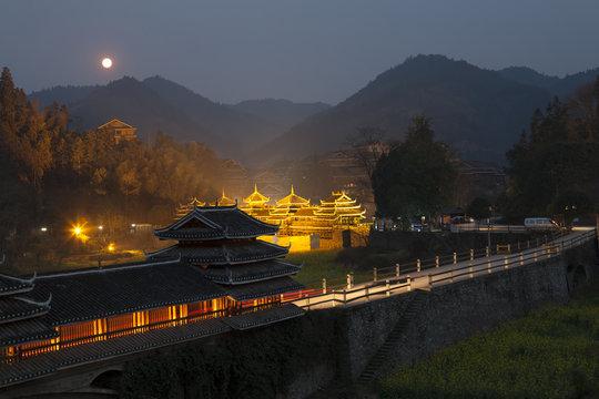ChengYang village night view