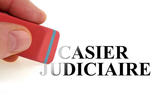 Effacer le casier judiciaire