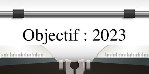 objectif - objectif 2023 - projet - challenge - 2023 - entreprise - stratégie - présentation