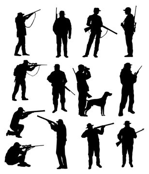 Hunter Silhouettes