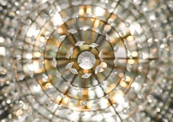 chandelier view from below