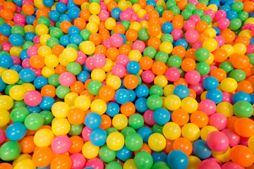 Colorful balls to use as pattern or background texture
