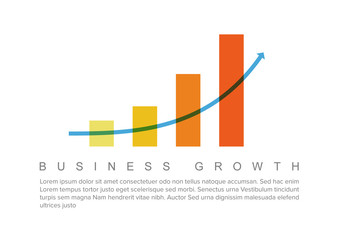 Business Chart Graphic Layout