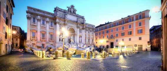 Poster de jardin Rome Trevi Fountain, Rome