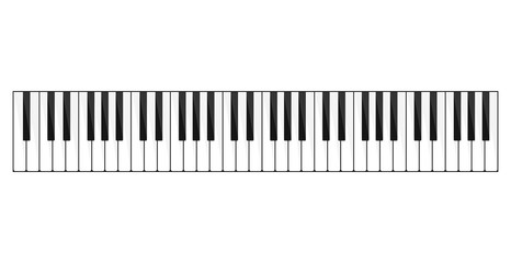 Piano keyboard image