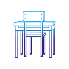 School table and chair design