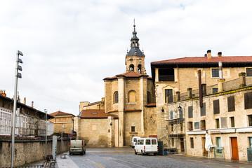 Religious monuments of the Basque capital, Vitoria, Spain