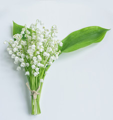 Wall Murals Lily of the valley Lily of the valley flower