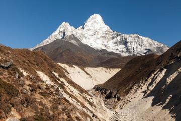 View of the Ama Dablam (6814 m) - Everest region, Nepal, Himalayas