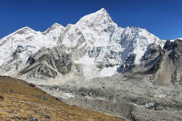 Everest & Nuptse from Kalapattar, 5545m