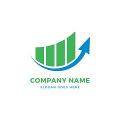 Arrow growth logo design