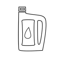 design element symbol gas icon automobile service theme04
