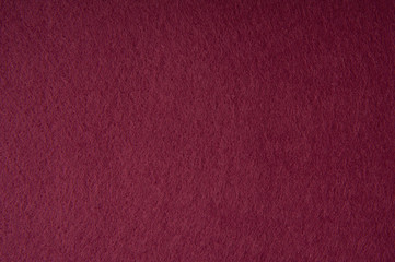 Red felt fabric texture for background