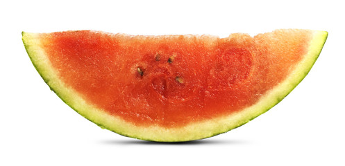 Isolated Watermelon Slice
