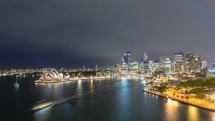 Sydney. Panoramic image of Sydney, Australia