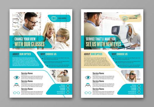 Optometry Flyer Layout 1
