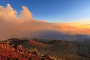 Sunset at Mauna Kea, Big Island, Hawaii