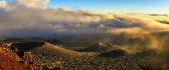 Sunset at Mauna Kea, Big Island, Hawaii