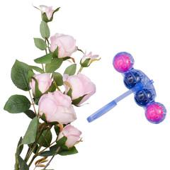 Toilet cleaner freshness of flowers
