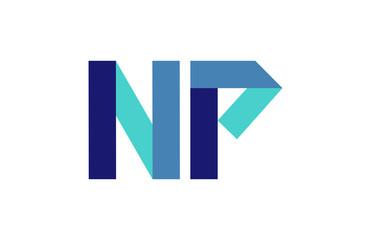 NP Ribbon Letter Logo