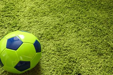 Football (Soccer) ball  close up photo. Sports photography