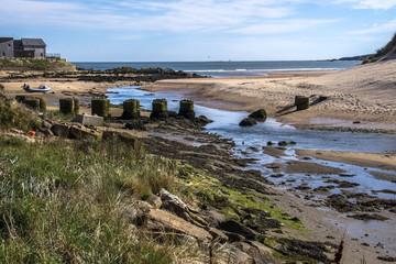 Cruden Bay beach, Scotland, United Kingdom. May 2017