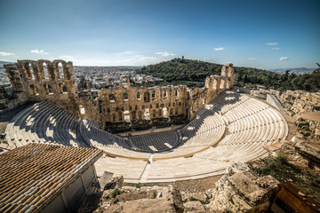 Theatre of Herodes Atticus, Acropolis of Athens, Greece