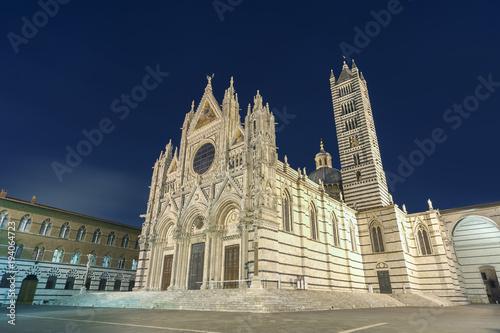 Fototapete Cattedrale di Siena, Siena, Tuscany, Italy