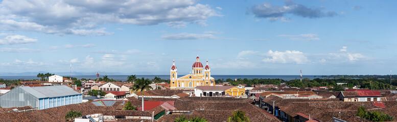 Panorama de la ville de Grenade (Granada), Nicaragua