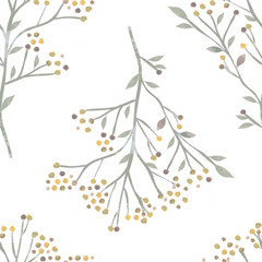 Floral paint texture repeat modern pattern