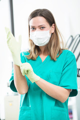 Dental hygienist photo