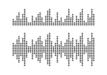 sound wave logo vector