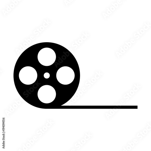 film reel vector icon stock image and royalty free vector files on rh eu fotolia com movie reel vector film reel vector icon