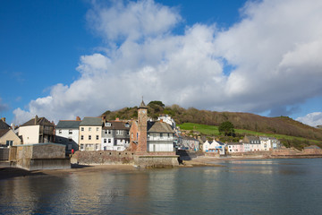 Fototapete - Kingsand village Cornwall England situated next to Cawsand on the Rame Peninsula overlooking Plymouth Sound