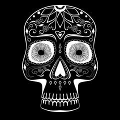Stylized Mexican Sugar Skull