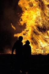 Falò - Fuoco e fiamme