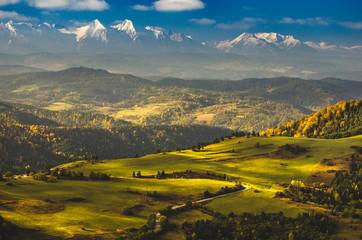 Fototapeta Jesień w Małych Pieninach. obraz