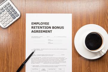 employee retention bonus agreement