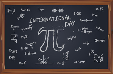 School slate to International Pi Day