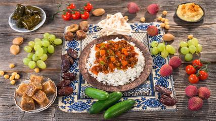 Ifthar evening meal for Ramadan