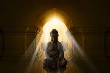 Buddha in Bagan temple