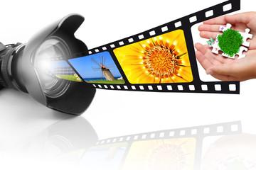 Macchina fotografica e pellicola