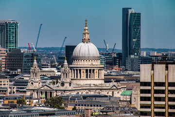 London, England Sehenswürdigkeiten der Stadt bei sonnigem Wetter Panorama