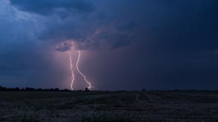 Two lightnings