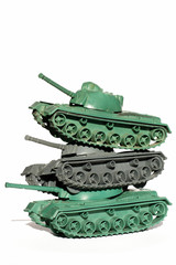tanks toy objects isolated military theme