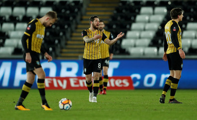 FA Cup Fifth Round Replay - Swansea City vs Sheffield Wednesday