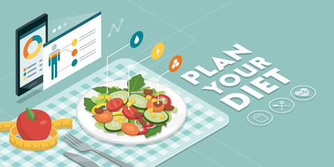 Food and diet app